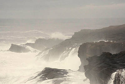 Photograph - Crashing Waves by Angi Parks