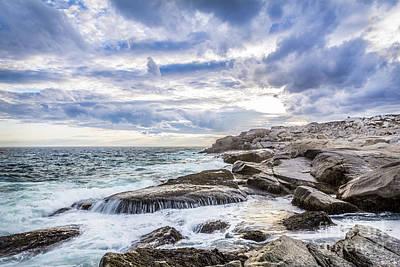 Miles Davis - Crashing Waves at Prospect, Nova Scotia #4 by Mike Organ