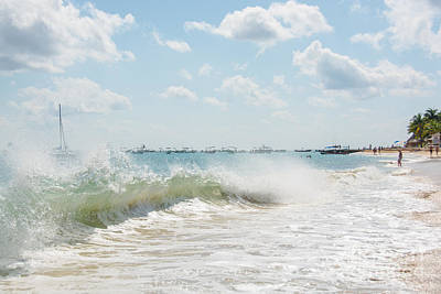 Photograph - Crashing Waves by Cheryl Baxter