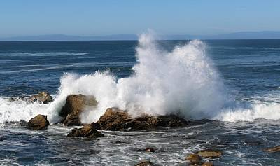 Photograph - Crashing Waves  by Christy Pooschke