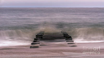 Photograph - Crashing Waves In Rehoboth by Rob Sellers