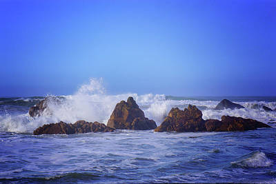 Photograph - Crashing Waves by Keith Boone
