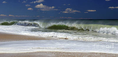Photograph - Crashing Waves by Mary Haber