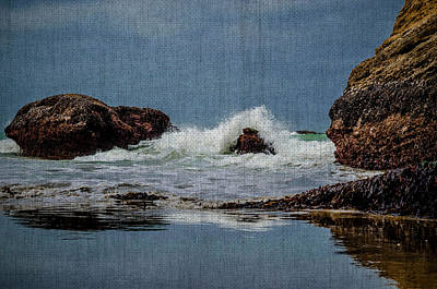 Photograph - Crashing Waves Of The Sea by Steven Brodhecker