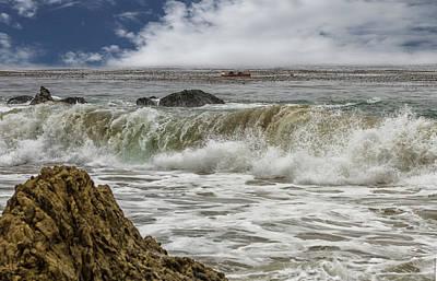 Photograph - Crashing Waves by Robert Hebert