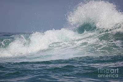 Photograph - Crashing Waves by Wilko Van de Kamp