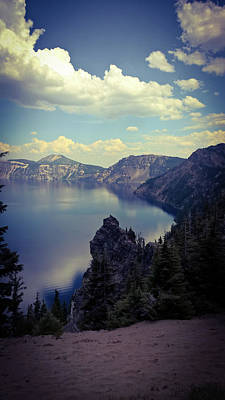Photograph - Crater Lake 1 by Pacific Northwest Imagery