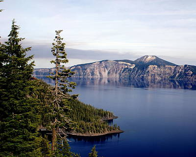 Crater Lake 3 Print by Marty Koch