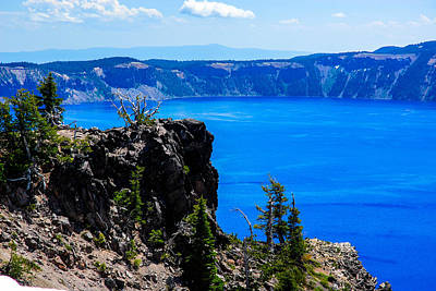 Photograph - Crater Lake 3 by Storm Smith