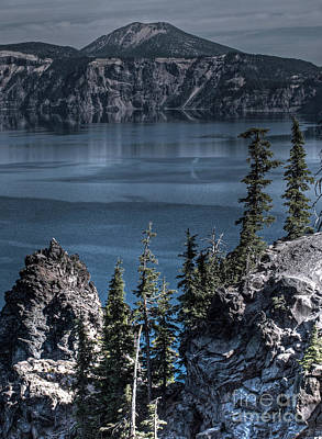 Crater Lake 4 Art Print