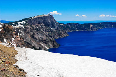Photograph - Crater Lake 4 by Storm Smith