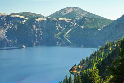 Photograph - Crater Lake 5 by Frank Wilson