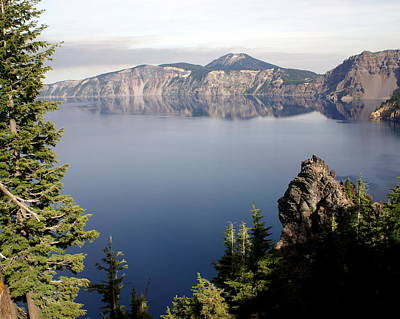 Photograph - Crater Lake 5 by Marty Koch
