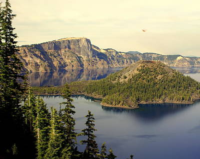 Photograph - Crater Lake 6 by Marty Koch