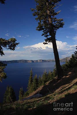 Photograph - Crater Lake 7 by Carol Groenen