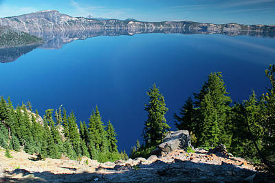 Photograph - Crater Lake 7 by Frank Wilson