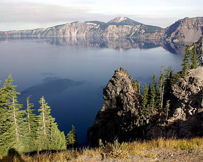 Photograph - Crater Lake 7 by Marty Koch