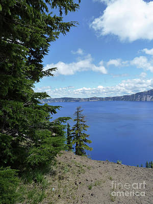 Photograph - Crater Lake 7 by Methune Hively