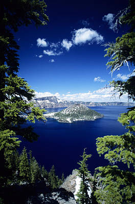 Photograph - Crater Lake by Allan Seiden - Printscapes