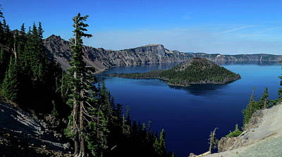 Photograph - Crater Lake by Allen Sindlinger