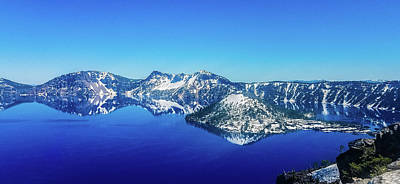 Photograph - Crater Lake Blue by Jonny D