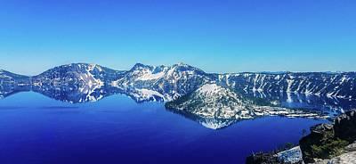 Photograph - Crater Lake Blue by Jonny D