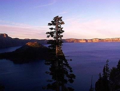 Photograph - Crater Lake by Charlotte Nunn