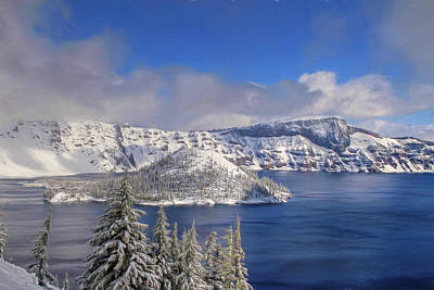 Photograph - Crater Lake by Donna Kennedy