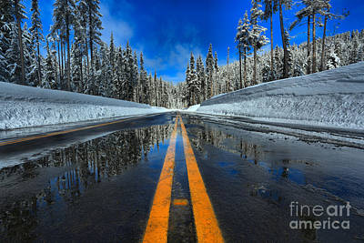 Photograph - Crater Lake Entrance Road by Adam Jewell