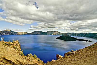 Photograph - Crater Lake I by Albert Seger