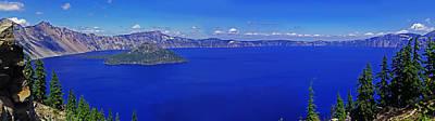 Photograph - Crater Lake by Jack Moskovita