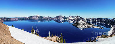 Photograph - Crater Lake by Jonny D