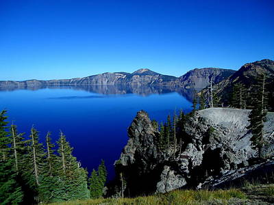 Photograph - Crater Lake by Kimberly Oegerle