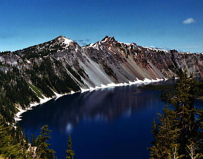 Photograph - Crater Lake by Peter Piatt