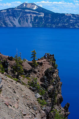 Photograph - Crater Lake Point Overlook by Tikvah's Hope