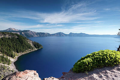 Photograph - Crater Lake by Robert McKay Jones