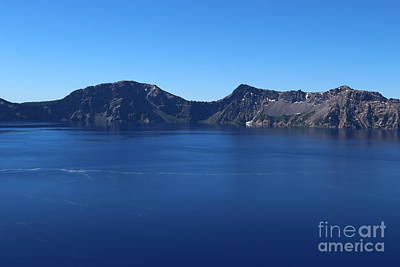 Photograph - Crater Lake by Serena Ballard