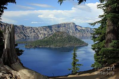 Wall Art - Photograph - Crater Lake by Tracy Farrand