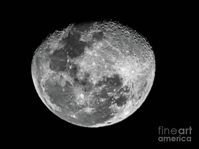 Photograph - Craters On The Moon by Camille Pascoe