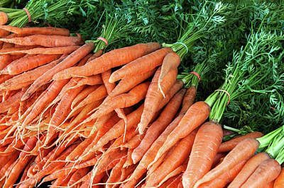 Photograph - Crates Of Carrots by Todd Klassy