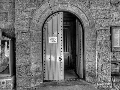 Photograph - Crathie Kirk Entrance by Joan-Violet Stretch