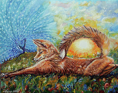 Painting - Craving Fox  by Yelena Rubin