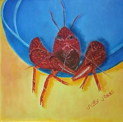 Crawfish Boil Art Print by Judy Jones