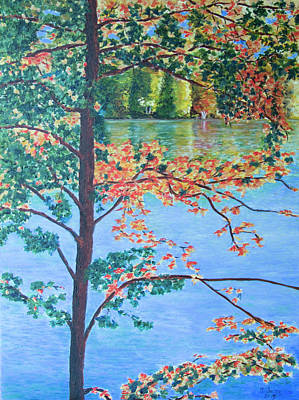 Painting - Crawford Lake On by Milly Tseng