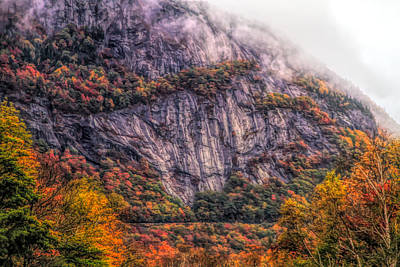 Painting - Crawford Notch Fall Foliage by Dan Sproul