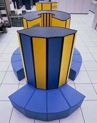 Cray X-mp/48 Supercomputer Print by David Parker