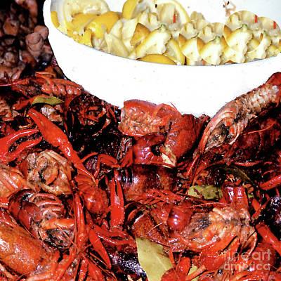 Photograph - Crayfish - New Orleans Restaurant by Merton Allen