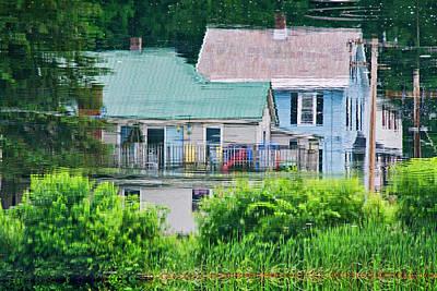 Crayola Cottages Art Print