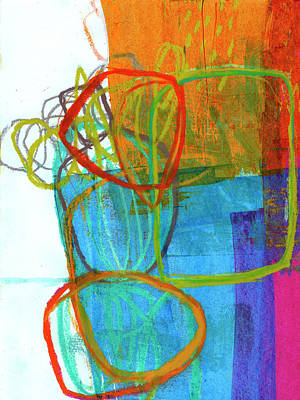 Painting - Crayon Scribble#8 by Jane Davies