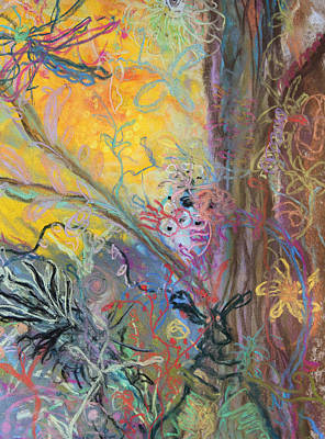 Painting - Crazy Bugs by Judy Bernier